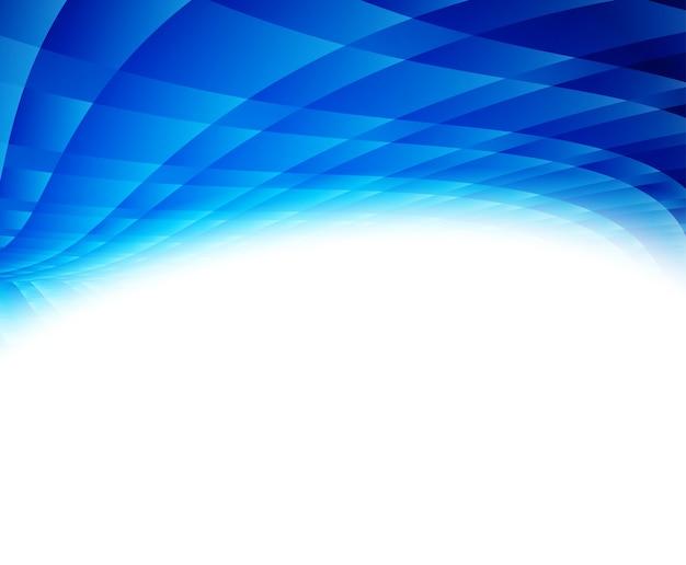 Niebieskie tło geometryczne. ilustracja