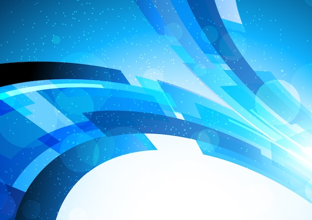 Niebieskie Tło Jasne Premium Wektorów