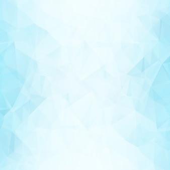 Niebieskie tło kształty wielokątne