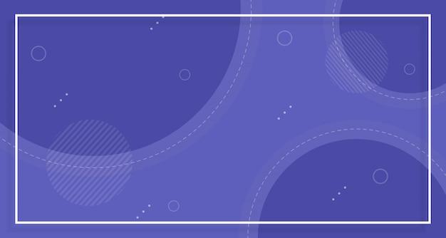 Niebieskie tło sprzedaży banner, z abstrakcyjnych kształtów