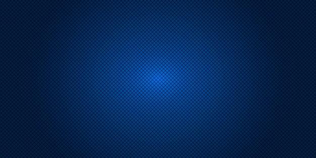 Niebieskie tło ukośnej siatki kwadratowej