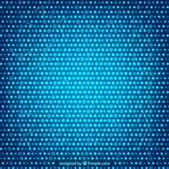 Niebieskie tło z plamkami