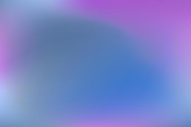 Niebiesko-fioletowa siatka niewyraźne wielokolorowe gradientowe wzór gładkie nowoczesne tło w stylu akwareli