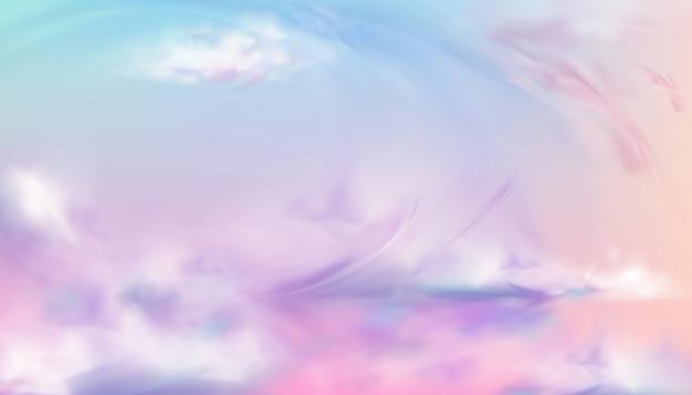 Niebo lub niebo natura zachód lub wschód słońca