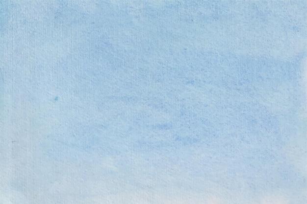Niebo niebieskie tło akwarela tekstury