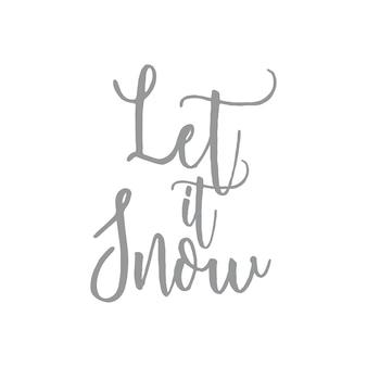 Niech pada - słowo zima cytuje