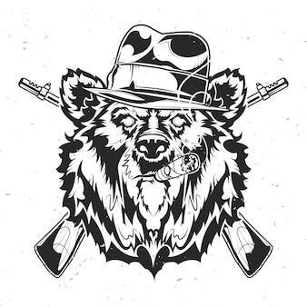 Niedźwiedź gangstera