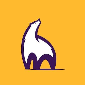 Niedźwiedź polarny logo