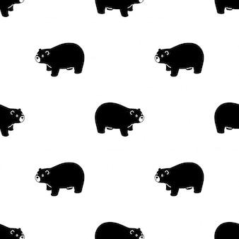 Niedźwiedź polarny wzór