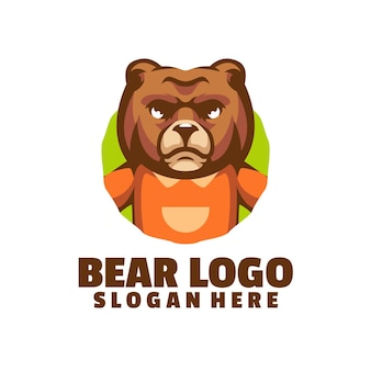 Niedźwiedź złe logo