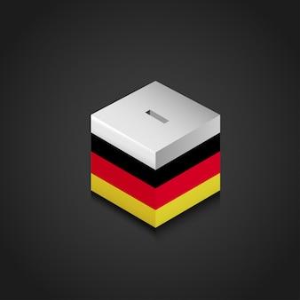 Niemcy falg ikony projektu