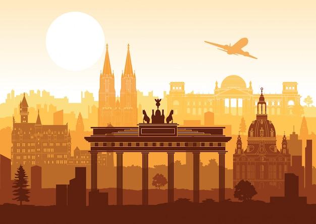 Niemcy sławny punkt orientacyjny