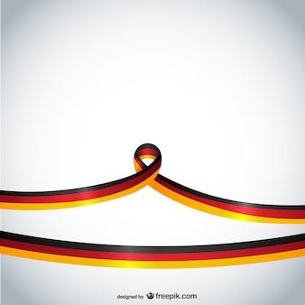 Niemcy wstążką