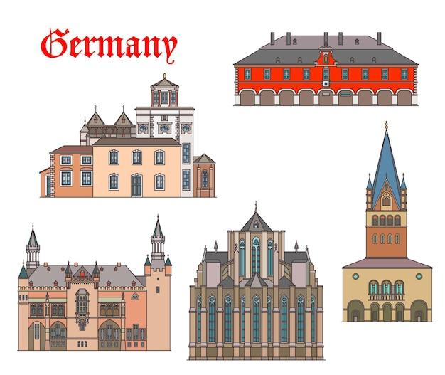 Niemcy zabytkowe budynki i katedry