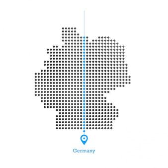 Niemcy zapałała grafiką wektorową