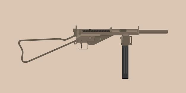 Niemiecki mp3008 pistolet wojna światowa 1 i 2