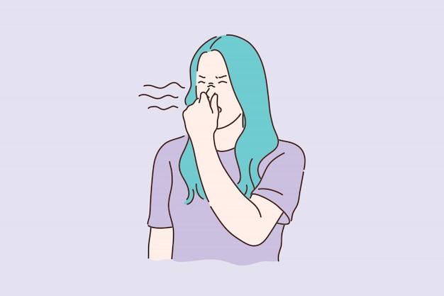 Nieprzyjemny zapach, koncepcja zapachu