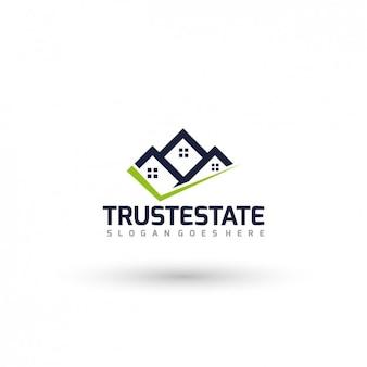 Nieruchomości logo template