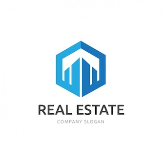 Nieruchomości szablon logo