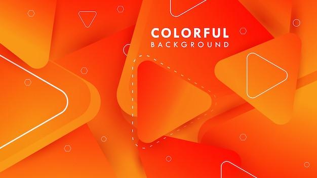 Niesamowite kolorowe tło