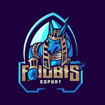Niesamowite logo anubis