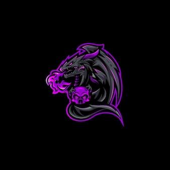 Niesamowite logo e-sportu dla twojego zespołu podczas streamowania