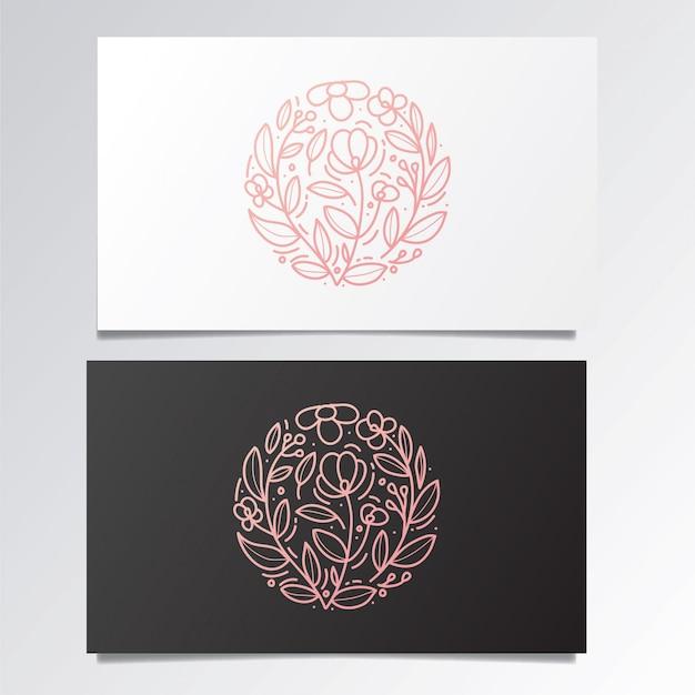 Niesamowite logo i zestaw wizytówek