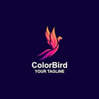 Niesamowite logo ptaka