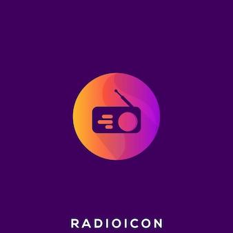 Niesamowite logo radia