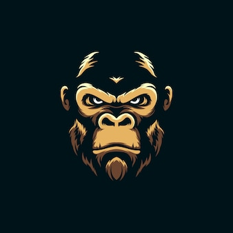 Niesamowite maskotka gorilla
