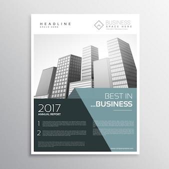Niesamowite ulotki biznesu szablon projektu w a4