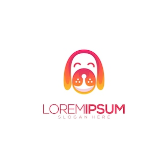 Niesamowity pies premium logo