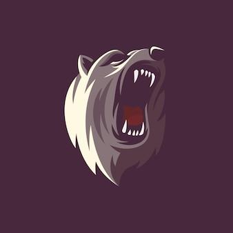 Niesamowity projekt ilustracji niedźwiedzia