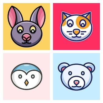 Nietoperz, kot, pingwin i niedźwiedź