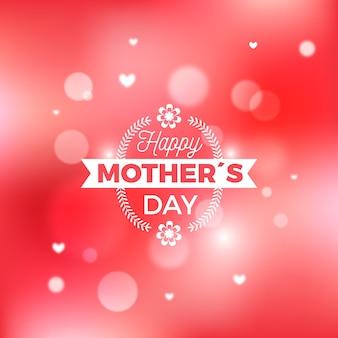 Niewyraźne koncepcja dzień matki