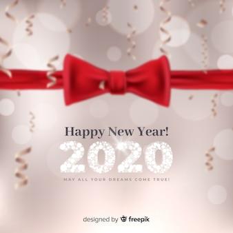 Niewyraźne nowy rok 2020