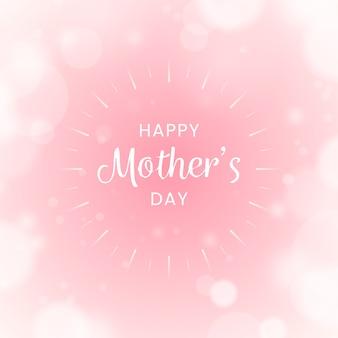 Niewyraźne szczęśliwy dzień matki