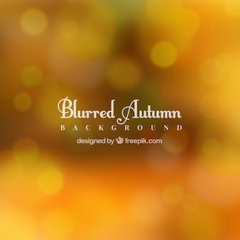 Niewyraźne tło jesień z efektem bokeh