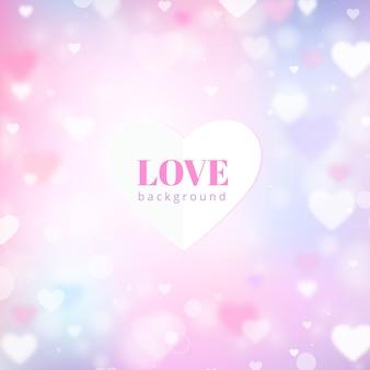 Niewyraźne tło miłości