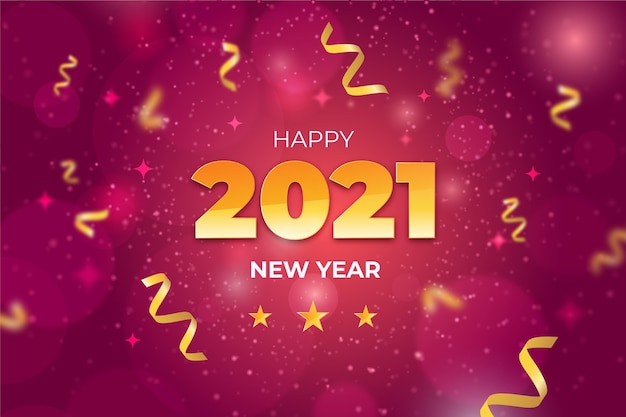 Niewyraźny nowy rok 2021