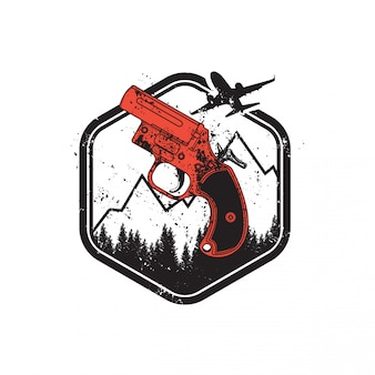 Nieznany pistolet flotacyjny battlegroundu gracza