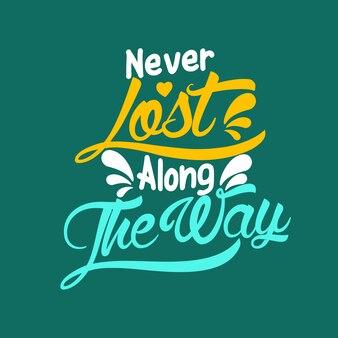 Nigdy nie zgubiony po drodze