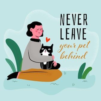 Nigdy nie zostawiaj swojego zwierzaka za sobą
