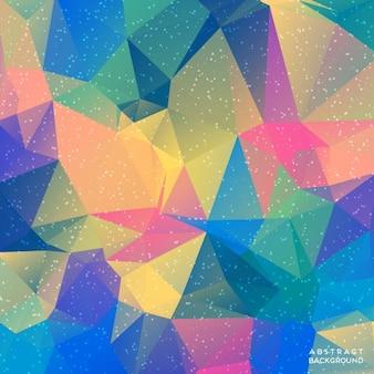 Niska poli tło geometryczne