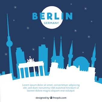 Noc panoramę berlina