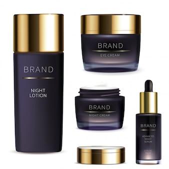 Nocna seria kosmetyków do pielęgnacji skóry twarzy