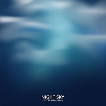Nocne niebo streszczenie tło. ilustracja wektorowa