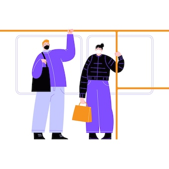 Noś maskę w transporcie publicznym