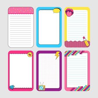 Notatki i karty w notatniku