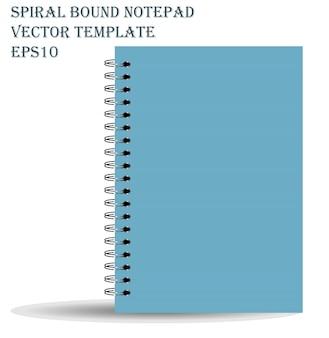 Notatnik związany spiralnie